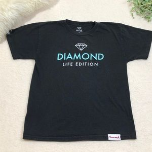 Diamond Supply Short Sleeve Tee Shirt